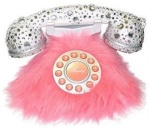 Unusual Pink Telephones