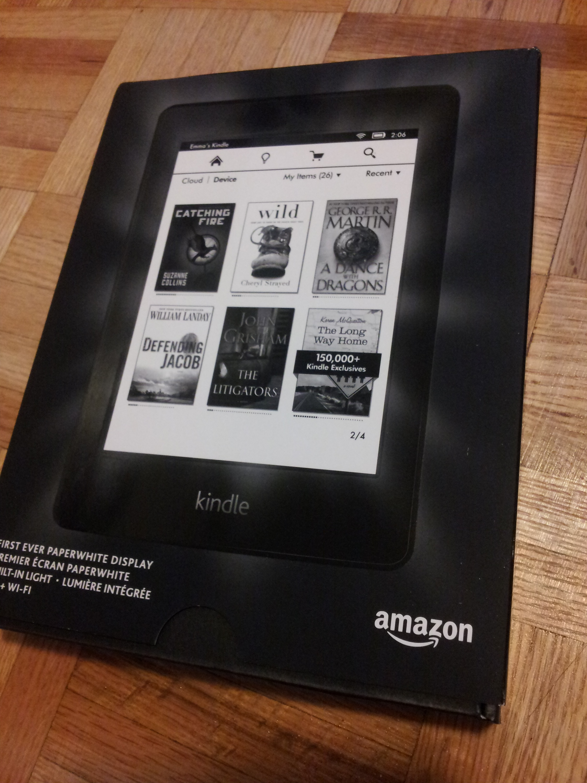 can i use kindle paperwhite on reading pdf files